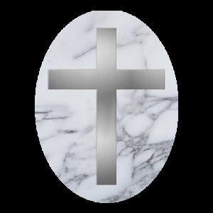 Cruci Mozaic, Marmura, Monument Funerar